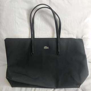Lacoste Tote Bag in Black