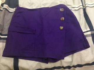 Purple skort (JC)