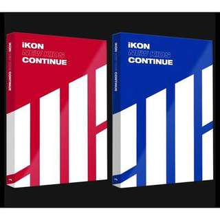 Ikon continue mini album