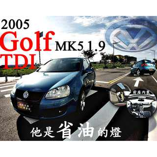 2005年 VW GOLF 1.9TDI 渦輪增壓 GTI LOOK