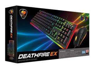 DEATHFIRE EX GAMING GEAR COMBO(COUGAR)