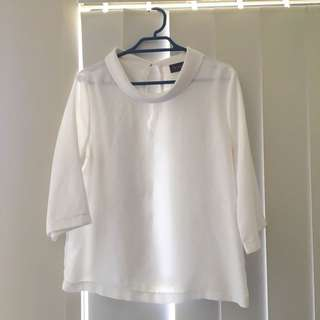White Corporate blouse