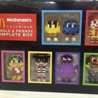 mcd mcdonald's nanoblock christmas gift