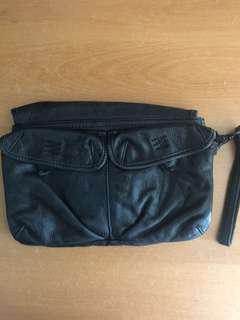 Polo Ralph Lauren Leather Clutch