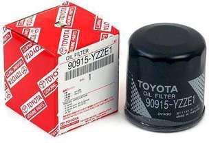 x 10pcs 90915-YZZE1 Geniune Original Toyota Engine Oil Filter( Vios,Camry,Wish,Altis,Sienta)