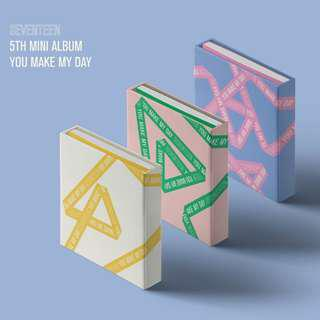[PREORDER] SEVENTEEN 5th Mini Album - You Make My Day