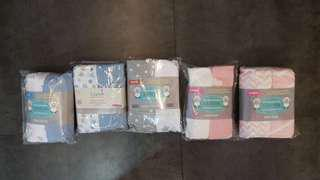 [INSTOCK] 2 pc Baby mattress covers/fitted sheet