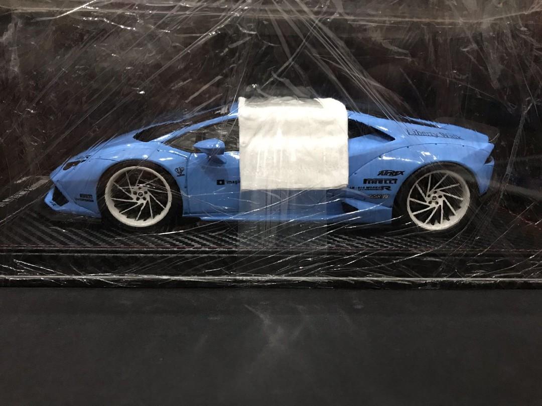 1 18 Gs Model Lamborghini Liberty Walk Huracan Lp610 Baby Blue