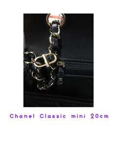 Chanel 袋錬縮短扣