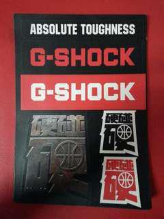 G-Shock Sticker