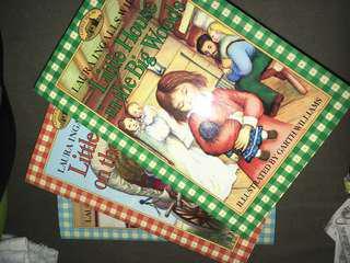 Little House on the Prairie THREE BOOKS