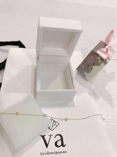 vendome aoyama氣質10k鑽石手鍊