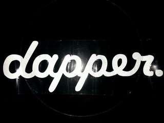 Dapper Sticker Untuk Cermin Depan Kereta