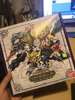 新約SD GUNDAM外傳 新世聖誕傳說 在月亮中閃耀的鐵血魔神boxset