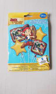 Disney Jake and the never land pirates balloon (authentic)