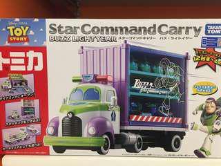 全新現貨 TOMICA Buzz lightyear star Command Carry 巴斯光年
