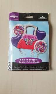 Girls handbag balloon (authentic)