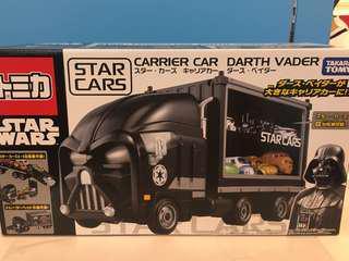 全新現貨 TD TOMICA cars carrier car darth Vader 黑武士 star wars