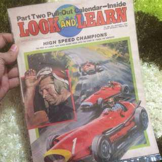 Vintage Look And Learn Magazine
