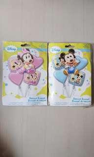 Disney baby mickey / minnie balloon (authentic)