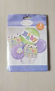 Baby shower balloon (authentic)