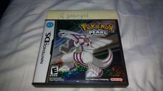 Pokemon Pearl Nintendo DS