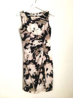 Calvin Klein Printed Dress