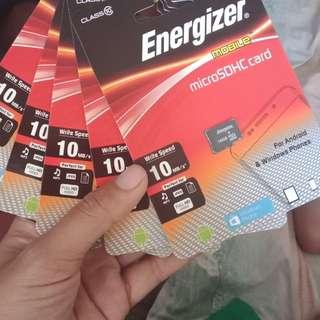 energizer memory card 16gb