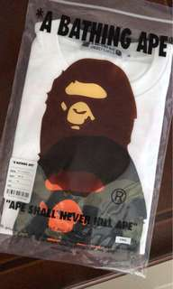 A bathing ape x undefeated HK