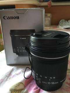 Canon EFS 10-18mm 鏡頭 廣角鏡
