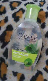 Facial Lotion / Toner Aloe Vera Anti Acne with Lime Extract