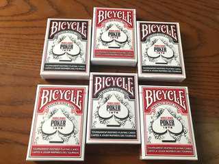 Bicycle World Series Poker Card