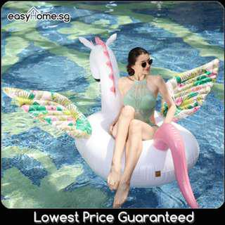 🚚 Candy Horse - Adult Inflatable Giant Float Swimming Pool Party