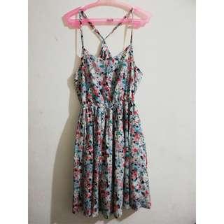 Floral Dress - like new