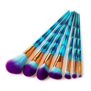 Blue Diamond Brush 8 Set
