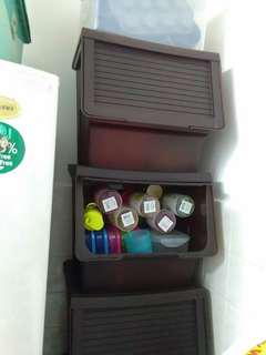 Large size storage box storage organizer