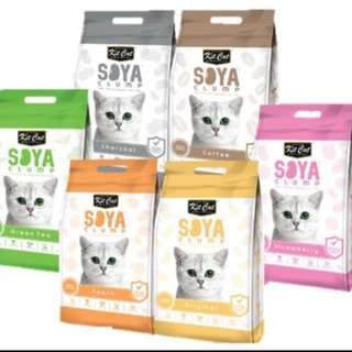 Kit cat soya clump