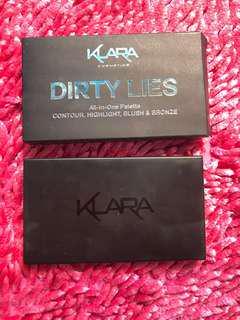 KLARA COSMETICS DIRTLY LIES