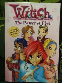 美國英文故事書 Witch The Power of Five 合小學-初中生 P3-S2 Age 8-14歲 購自商務書店