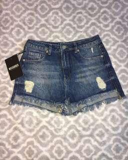 *brand new* denim shorts