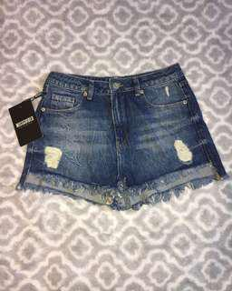 *brand new* denim shorts