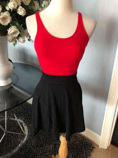 Skirt and top size S/M