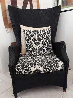 Abacca accent chair