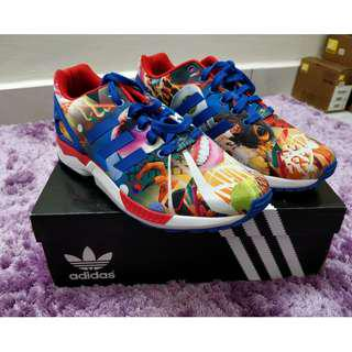 47e32b260 ADIDAS ZX FLUX CITY PACK KOREA 7.5UK