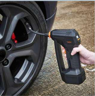 Wireless Portable Digital Air Inflator Auto Air Pump Electric inflator Rechargeable Li-On 12V 150 PSI