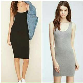 Bodycon dress ( two for 300php)