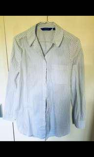 Glassons size 6 open back shirt