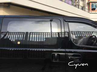 現代H1防曬車窗網