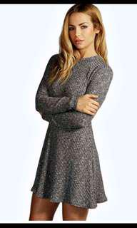 Boohoo size small/8 knit dress