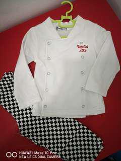 Baby chef uniform